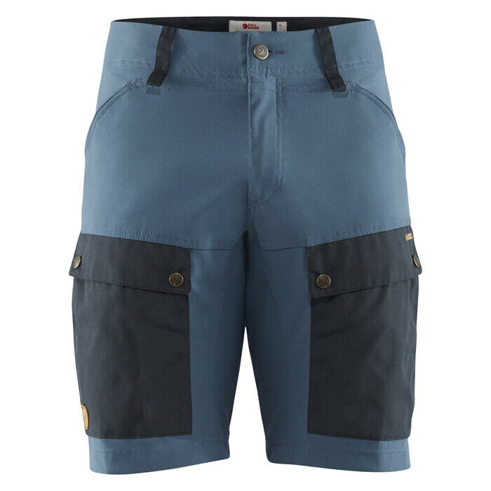 Fjäll Räven - Keb Shorts Men - dark navy uncle Blau - Kurze Herren Wandershorts