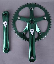 Pake Fixed Gear Track Messenger Single Speed Bike Crankset 165mm x 46t Green