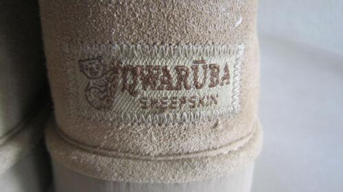 taille dames en brunes pour de Bottes mouton Qwaruba neuves peau 10 p6nz5xP4qw