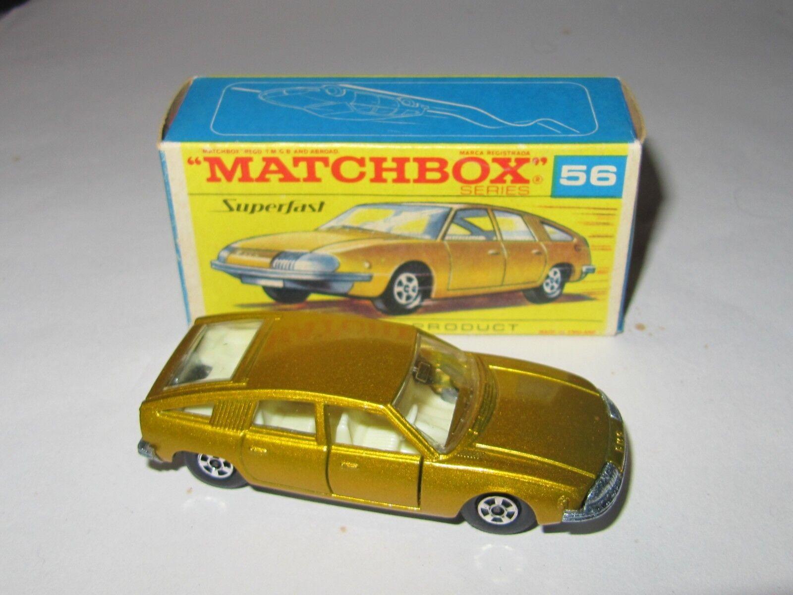 MATCHBOX SUPERFAST No.56 BMC 1800 PININFARINA MIB