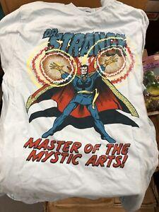 Marvel-Comics-Dr-Strange-Master-of-the-Mystic-Arts-Tee-Shirt-Marvel-License-NWT