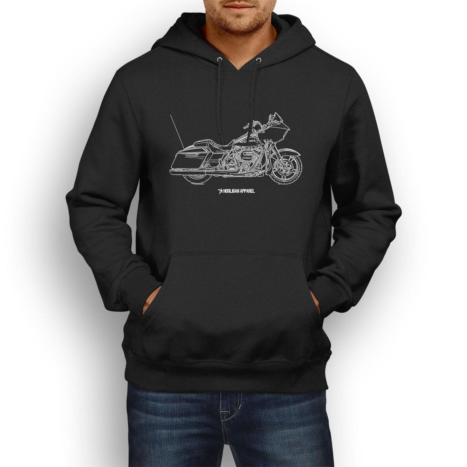 Harley Davidson Road Glide Special InspiROT Motorcycle Art Men's Hoodie