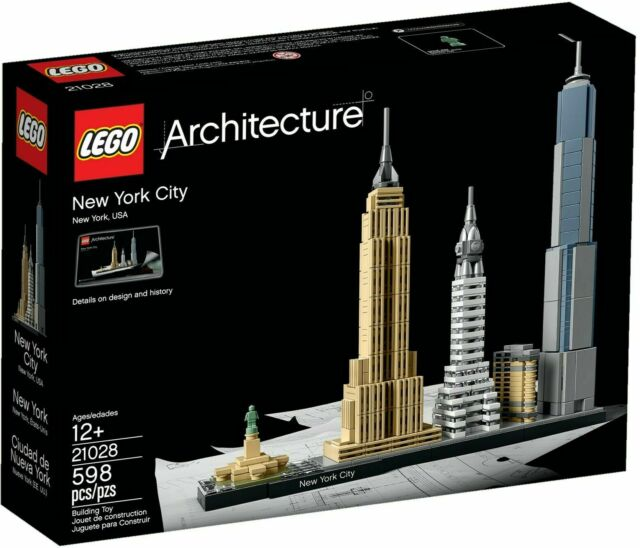 LEGO Architecture - New York City - 598 Pieces - Ages 12+ - 21028