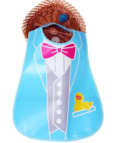 Baby Toddler Kids Boys Girl Waterproof Feeding Apron Saliva Towel Bibs Clothes E