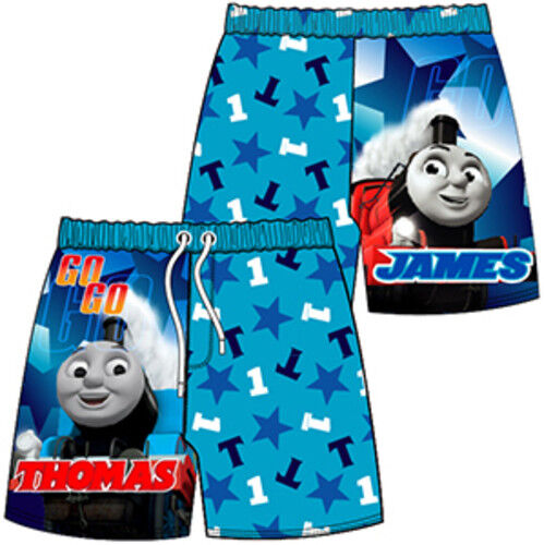 Boys swimming shorts kids surf character long shorts sizes 1-10 years