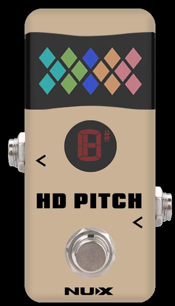 NUX NTU-2 HD Pitch Mini Pedal Tuner