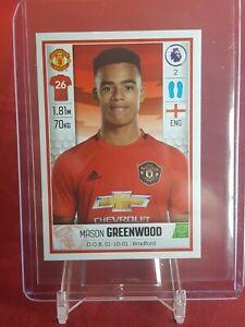 Mason-Greenwood-Manchester-United-Premier-League-2020-PANINI-Rookie-Sticker