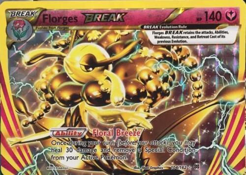 FLORGES Break 104//162 Pokemon TCG XY percée