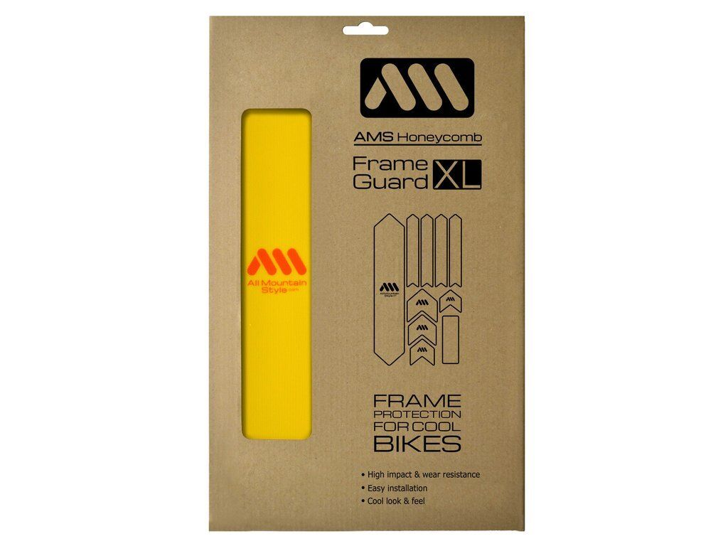 All Mountain Style AMS Frame Guard XL Yellow orange