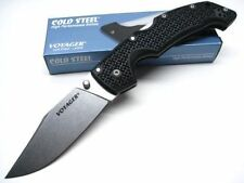CS29TLCC Cold Steel Large Voyager Clip Point CTS-BD1 Blade Griv-Ex Handle Tri-Ad