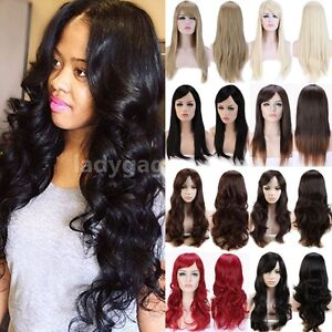 Thick-Natural-Hair-Wig-with-Bangs-Women-Long-Curly-Wavy-Straight-Wigs-Cosplay-d1