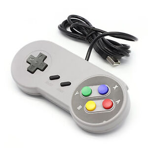 Details about SNES Style USB Gaming Control Pad RetroPie Compatible PC W10  MAME Compatible UK