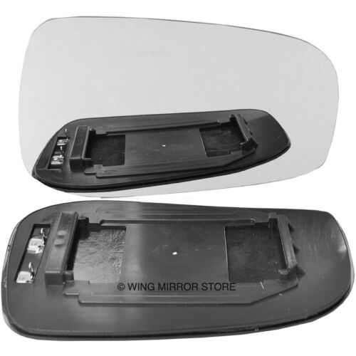 Right Driver side for Volvo S60 03-06 heated wing mirror glass clip on