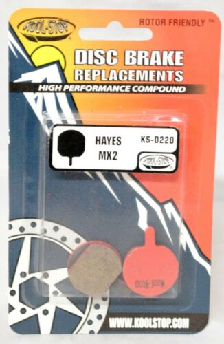 KOOL STOP KS-D220 ORGANIC DISC BRAKE PADS FOR HAYES MX2