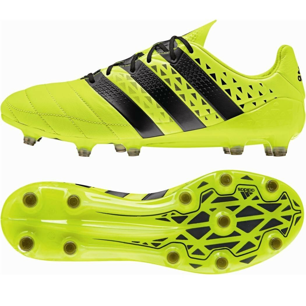 ADIDAS ACE 16.1 FG LEATHER Pelle Speed of Light Pack Sautope Calcio Gituttio [s79684]