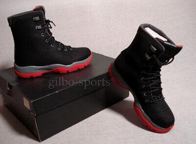 Nike Air Jordan Future Boot Black Gym Red Grey Größe 40 40,5 schwarz 854554 001   eBay