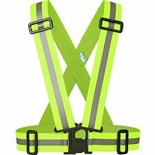 Reflective Vest Adjustable Lightweight Elastic Safety Vest Outdoor Night Gear