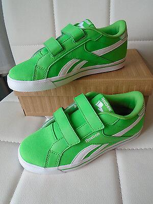 Reebok Kinder Halbschuhe Sport Sneakers Klettverschluss ROYAL COMP ALT Gr 33 Neu