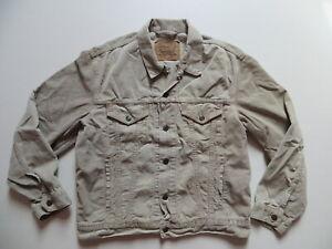 Levi-039-s-Jeans-Biker-Jacke-Cordjacke-Gr-L-Cord-Oldschool-Fashion-mit-6-Taschen