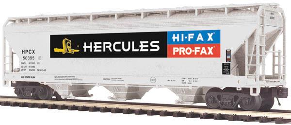 Mth premier o - 50169 herkules kunststoffe 3-bay centerflow hopper auto 20-97767