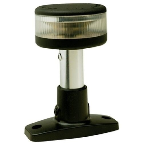 4 Inch LED Fixed Mount All Around White Navigation Light for Boats 2 Mile