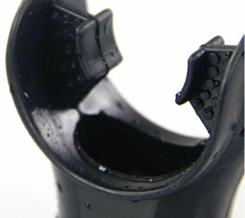 Silikon schwarz Standardgröße Mundstück für 2.Stufe oder Schnorchel
