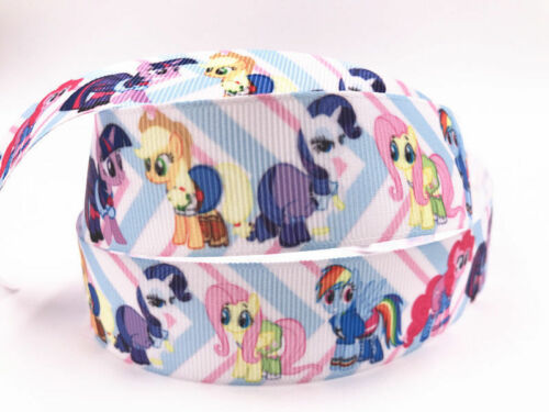 """Wholesale 1-10 Yards 25mm 1/"""" printed Grosgrain Ribbon Craft sewing Whole"""