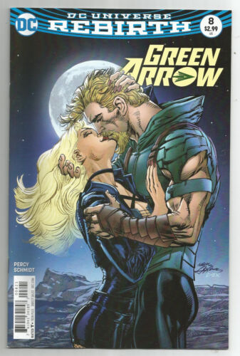 GREEN ARROW # 8 NEAL ADAMS cover DC UNIVERSE REBIRTH