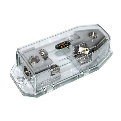 STINGER SHD822 HPM CHROME 1//0 OR 4 GAUGE MIDI FUSED POWER DISTRIBUTION BLOCK