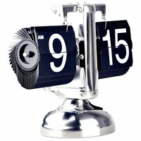 High-quality Durable Retro Digital Scale Flip Desk Clock With Metal Stand
