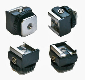 FotoPanda-SS-1-Synchro-Sync-Hot-Shoe-Flash-Adaptor-Hot-shoe-from-PC-Sync-Out