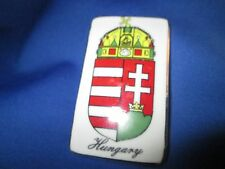 """Kalocsa Small Magnet Hungarian Coat Of Arms 2 7/8""""by 1 1/2"""" HAND MADE & PAINTED*"""