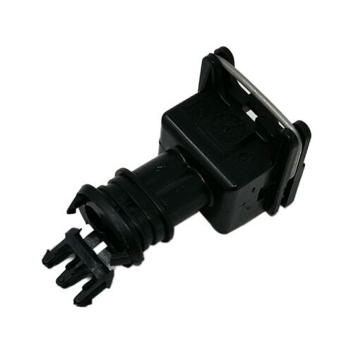 2X conector 282189-1 Enchufe Hembra Pin automotriz JPT 2 Para Cable Negro te Conn