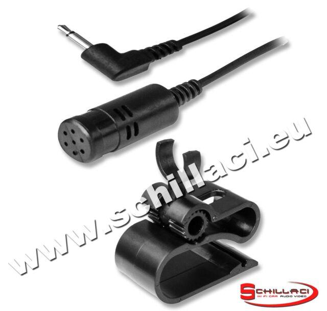 Microfono per autoradio Pioneer Bluetooth vivavoce jack 2,5 mm