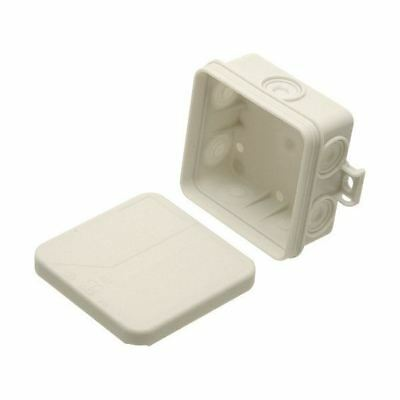 SPELSBERG OUTDOOR WATERPROOF IP55 JUNCTION BOXES WITH KNOCKOUTS /& 5 TERMINALS