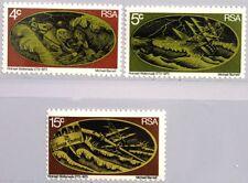 RSA SÜDAFRIKA SOUTH AFRICA 1973 421-23 Heldentat W. Woltemade Schiff Ship MNH
