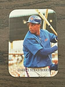 1987 Indiana Blue Sox Inc. Darryl Strawberry #15 New York Mets (Odd Ball)