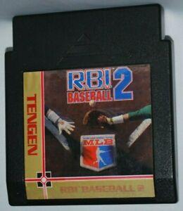 R,B.I. RBI Baseball 2 Cartridge NES Nintendo Game Authentic Tested Good