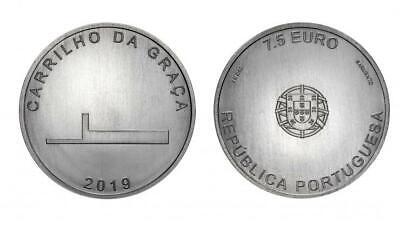 2018 Granary houses from northwest 2.5 Euros Unc Coin Espigueiro Portugal