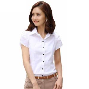 23bcfd3767052 Image is loading Blusas-Camisas-Elegantes-Casuales-Blusa-Para-Mujer-A-