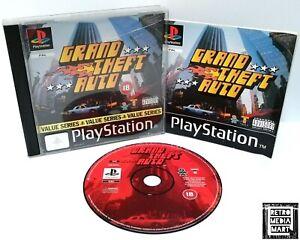 Grand-Theft-Auto-GTA-Sony-Playstation-ps1-Value-Serie-sehr-gut-komplett