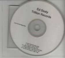 (CL752) Ed Sealy, Love Can Be Beautiful - DJ CD