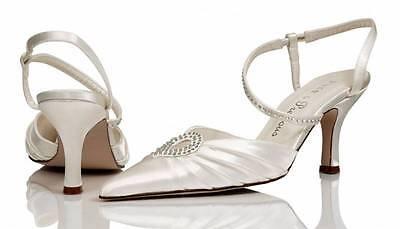 Hochzeit & Besondere Anlässe UnermüDlich Elfenbein Satin Brautjungfer Hochzeit Schuh Größe 4,5,6,7,8 Style Caprice Waren Des TäGlichen Bedarfs Kleidung & Accessoires