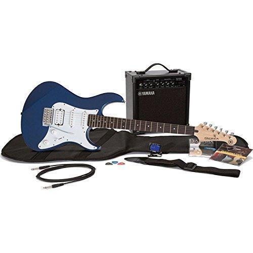 yamaha gigmaker eg electric guitar pack metallic dark blue for sale online ebay. Black Bedroom Furniture Sets. Home Design Ideas