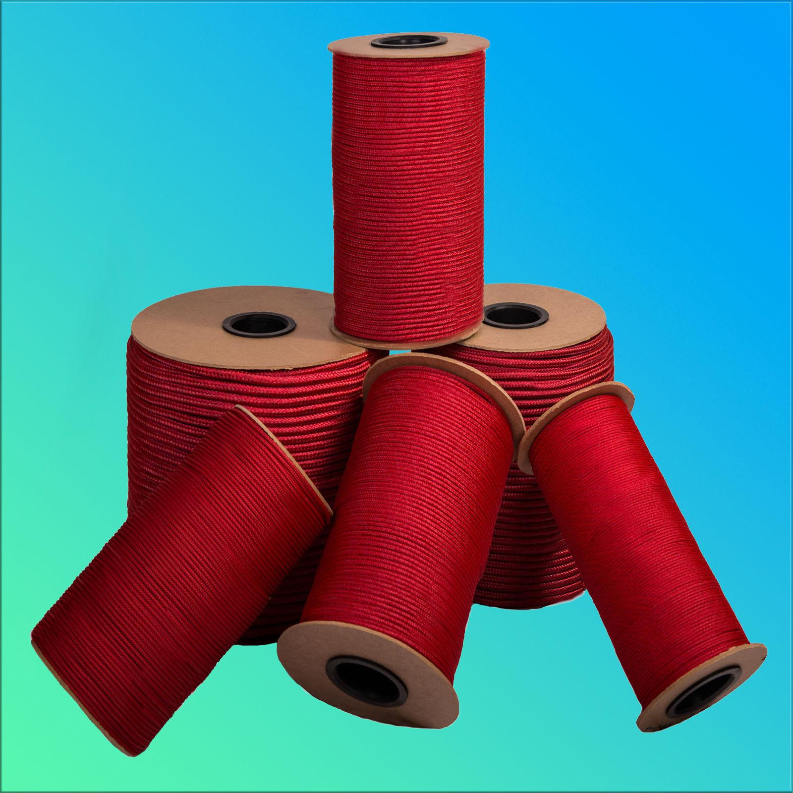12mm 1- /m  Seil Seil Seil geflochten ROT Schnur Kunststoff Leine Reepschnur Tau ce504e