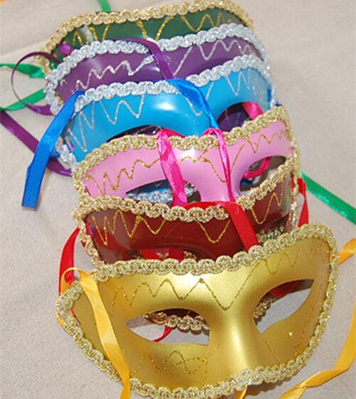 1pc Chic Venetian Party Masquerade Glitter fancy dress Man/Woman Mask dance