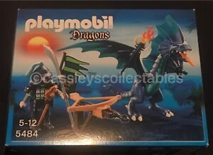 Playmobil-5484-How-To-Train-Your-Dragon-Knights-Castle-Magic-Complete-New