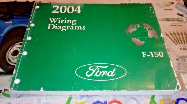 2004 Ford F150 Trucks Wiring Diagrams Manual 2  4wd Not