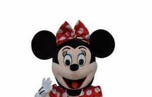 Christmas Minnie Mouse Head.Details About 2019 Minnie Mouse Head Mascot Costume Christmas Birthday Fancy Dress Only Head