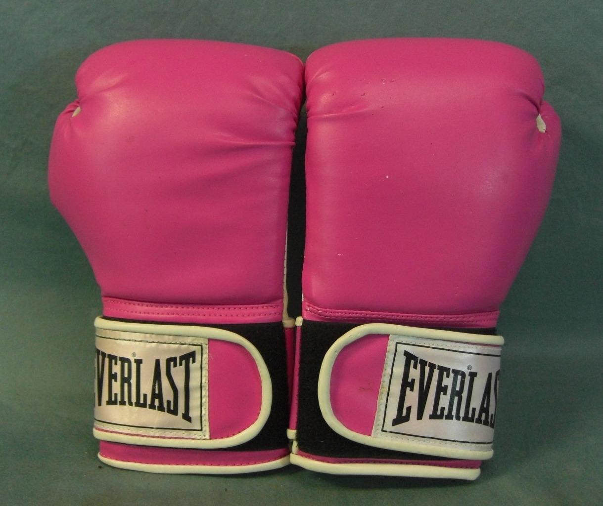 Selten Paar Everlast Rosa Boxhandschuhe Damen  Damen     Guter Zustand 9a66c1